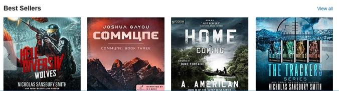 Commune Book Three Debuts to Audible Best Seller's List | Joshua Gayou